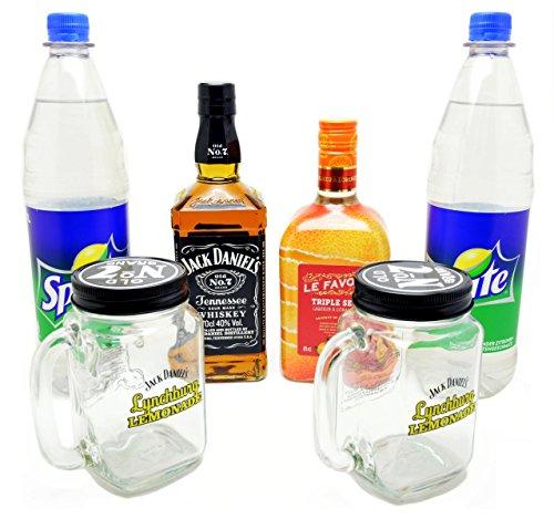 Jack Daniels Lynchburg Lemonade Set mit Krügen