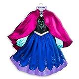 Disney Anna Costume for Kids - Frozen Size 4 Multi