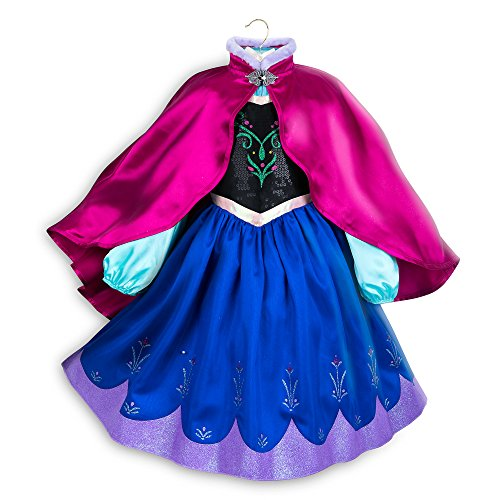 Disney Anna Costume for Kids - Frozen Size 5/6 Multi