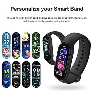 """Xiaomi Mi Band 6 Pulsera,Reloj Inteligente Pulsera,1.56"""" Pantalla AMOLED,Monitoreo del Sueño,Rastreador de Ejercicios Bluetooth a Prueba de Agua,Versión Global"""