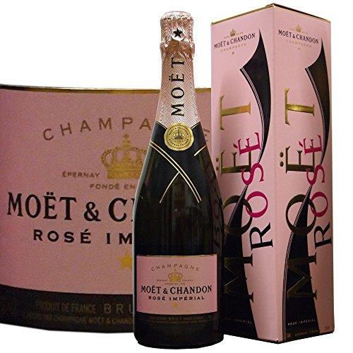 Moët & Chandon Rosé Brut Impérial in Geschenkpackung Roséchampagner (1 x 0.75 l)