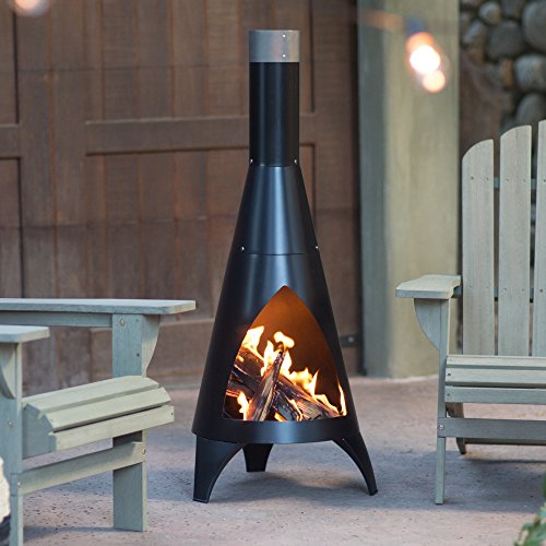 Chiminea by Red Ember Alto with Robust Steel...