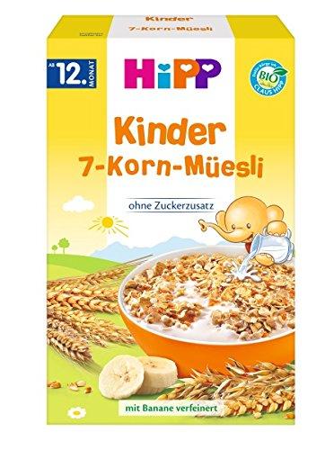 Hipp enfants muesli 7 grains, 200g