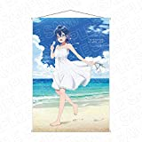 白い砂のアクアトープ B2タペストリー 海咲野くくる 砂浜 ver.