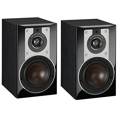 Dali Opticon 1schwarz Lautsprecher–Lautsprecher (XLR, 2.0Kanal, kabelgebunden, TERMINAL, 62–26500HZ, schwarz)