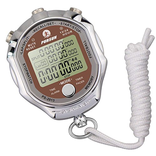 LAOPAO Melt Stoppuhr, Digitalanzeige 1/1000 Sekunden Precision Outdoor Elektronische Metall Digital Chronograph Timer Für Basketball Fußball Fußball Baseball Outdoor Sports