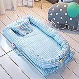 AIBAB Baby Nest,Coton Lavé, 100% Coton, Berceau, Portable, Amovible, Nouveau-né,...