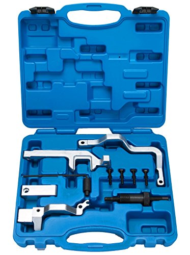 FreeTec 10 TLG. Motor Einstellwerkzeug Arretierwerkzeug Nockenwellen kompatibel kompatibel für BMW Mini Cooper N12/N14 Citroen Peugeot