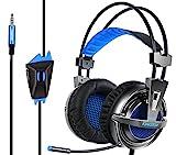 ゲーミングヘッドセット PS4 超軽量 KINGTOP K12 ゲーミングヘッドフォン 大音量 高音質 プレイステーション4 ヘッドホン 電気メッキ材料採用 マルチ機能付き ノイズキャンセリングの高集音性マイク付 プレイステーション4/デスクトップPC/ノートパソコン/MacBook/タブレット/スマートホンに対応 13ヶ月の安心保証
