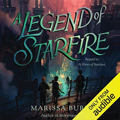 A Legend of Starfire audiobook cover art