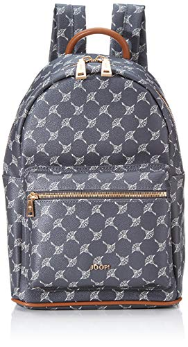 Joop! Damen Cortina Salome Backpack Mvz Rucksack, Grau (Darkgrey), 33x15x23 cm