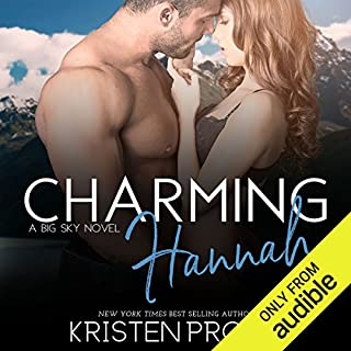 Charming Hannah                   By:                                                                                                                                 Kristen Proby                               Narrated by:                                                                                                                                 Morais Almeida,                                                                                        Patrick Garrett                      Length: 6 hrs and 10 mins     4 ratings     Overall 4.5