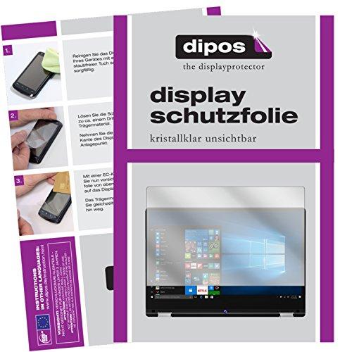 dipos I 2X Schutzfolie klar kompatibel mit Medion Akoya E3216 Folie Bildschirmschutzfolie
