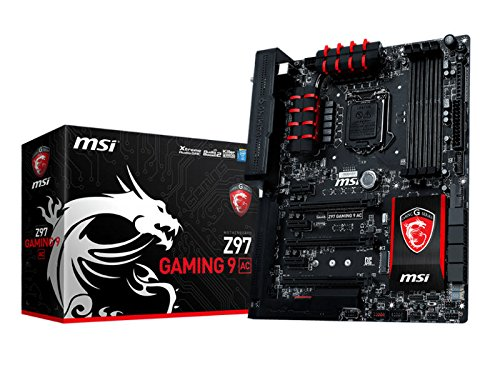Price comparison product image MSI ATX DDR3 2600 LGA 1150 Motherboards Z97 GAMING 9 AC