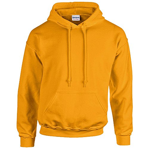 Gildan - Unisex Kapuzenpullover 'Heavy Blend' , Gold, Gr. L
