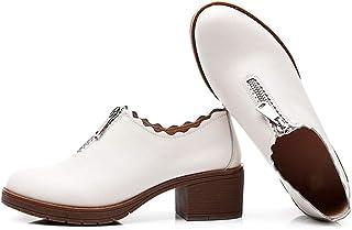 [ジョイジョイ] パンプス ローヒールレディース 履きやすい 作業靴 晴雨兼用 防水 厚底 軽い クラシック 春夏秋冬 痛くない 歩きやすい 疲れない 旅行 通勤通学 仕事 ヒール5cm カジュアル