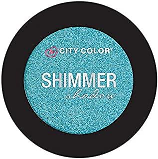 City Color Cosmetics Metallic Shimmer Eyeshadow | Vibrant, Bold, Beautiful Pigmented Makeup (Breezy)