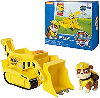 Paw Patrol, Rubble's Transforming Bulldozer with Pop-Out Tools, for Ages 3 & Up