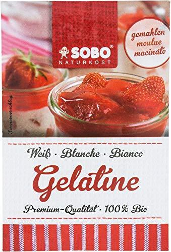 Sobo Bio Bio Gelatine, gemahlen (6 x 9 gr)