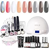 Modelones Gel Nail Polish Starter Kit with UV...