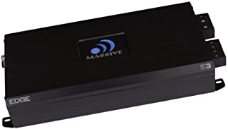 Massive Audio E3 - Car Audio 2,800 Watt Nano Edge Series, Monoblock Car Amplifier, Bass Boost, 1 Ohm Stable photo