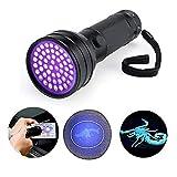 BESTSUN 51 LED UV Taschenlampe Gegenlichtbeleuchtung ultraviolette Strahle Handlampe für Spek...