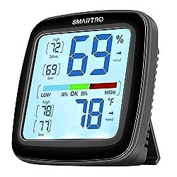 SMARTRO SC42 Professional Digital Hygrometer Indoor Thermometer Room Humidity Gauge