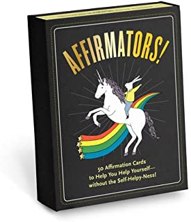 Affirmators! Original Deck 50 Affirmation Cards to Help You Help Yourself - Without the Self-Helpy-Ness!
