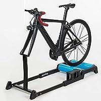 Entrenadores resistencia bicicleta plegables interior para todas estaciones, material aleación aluminio, rodillo silencioso, antideslizante, resistente arañazos, estable duradero, para bicicleta 700C