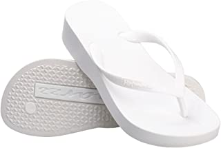 Women's Fashion High Heel Stylish Platform Flip Flops Wedge Sandals Summer Beach Slippers