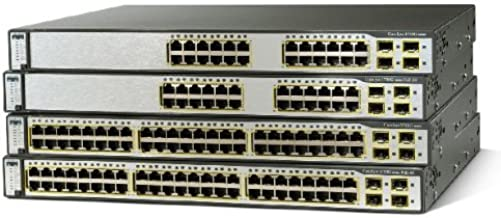 Cisco WS-C3750G-12S-S CATALYST 3750 12 SFP STANDARD Switch