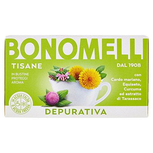 Bonomelli Tisana Depurativa, Erbe Miste - 16 Filtri, 32 g