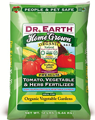 Dr. Earth 711 Organic Tomato, Vegetable & Herb Fertilizer, 12-Pound
