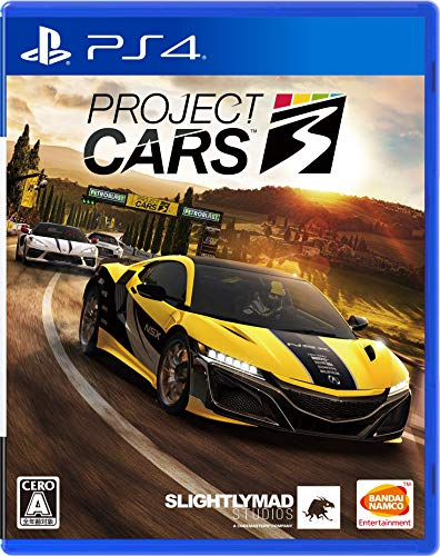【PS4】Project CARS 3