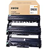 INKNI Compatible Drum Unit Replacement for Brother DR630 DR-630 for MFC-L2700DW HL-L2380DW DCP-L2540DW MFC-L2740DW MFC-L2705DW HL-L2340DW HL-L2300D HL-L2360DW HL-L2320D MFC-L2685DW (Black,2-Pack)