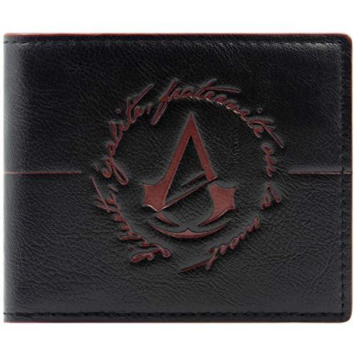 Ubisoft Assassins Creed Unity Logo Nero portafoglio