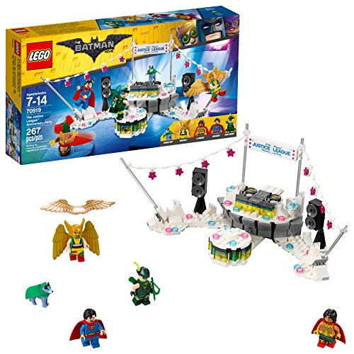LEGO batman dc the anniversary party liga de la justicia película 70919 kit de construcción multicolor