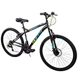 Huffy 26' Nighthawk Men's Mountain Bike, Black Matte 18 Speed