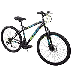 "You'll be ready for on-road and off-road adventures with this Huffy 26"" mountain bike. The 18-speed Nighthawk provides solid performance with front suspension that absorbs bumps and provides the proper amount of response on uneven surfaces. Choose fr..."