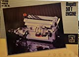 Pocher Motore Bugatti 50T Engine Rare Plastic Model Kit 1:8 Km/76