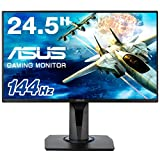 "ASUS VG258Q 24.5"" Full HD Gaming Monitor, 1ms, 144Hz, G-SYNC Compatible, Adaptive-Sync"