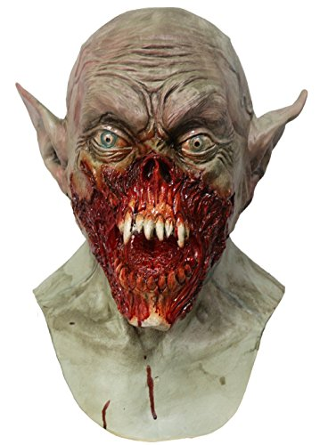 Hengyutoy Mask Halloween Máscara de Terror de Scary Zombie Látex Máscara