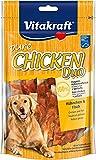 Vitakraft Pure Chicken Duo - Aperitivos para perros, carne de pollo y pescado, 1 unidad