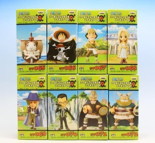 ONE PIECE One Piece World Collectable Figure 8 vol.9 all kinds of sets (japan import)