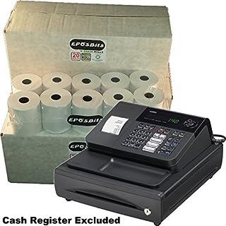 eposbits® marca 60rollos–3cajas para Casio 140CR 140CR caja registradora