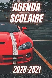 AGENDA SCOLAIRE 2020-2021 VOITURE: Voiture de Course Sport Racing Organisateur primaire..