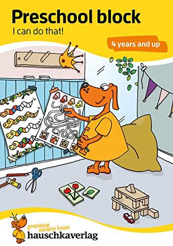Preisvergleich Produktbild Preschool block - I can do that! 4 years and up,  A5-Block (Übungsmaterial für Kindergarten und Vorschule,  Band 730)