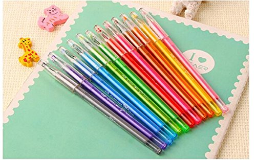 Buyta(TM) Gel Pen Set,Fine Point,Package of 12 [Office Product] Photo #7