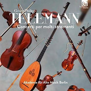Telemann: Concerti per molti stromenti