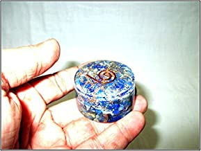 Jet Lapis Lazuli Orgone Tower Buster Free Booklet Jet International Crystal Therapy Piezo Electric EMF Protection Generator Frequency Ions Tested Cloud Chem Buster